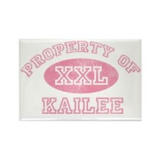 Property-of-Kailee Rectangle Magnet