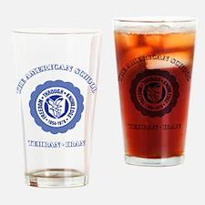 TAS1ltrBottleBlue Drinking Glass