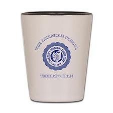 TAS1ltrBottleBlue Shot Glass