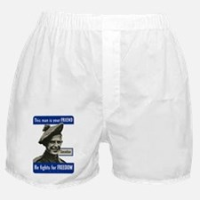 This Man Is Your Friend - Canadian Boxer Shorts