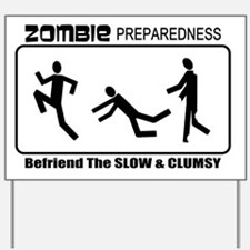 InkZombiePrepare_1 Yard Sign