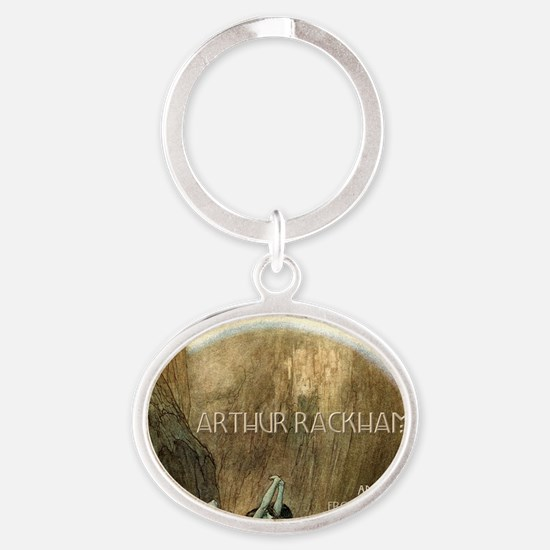 rackhamcovernodate Oval Keychain