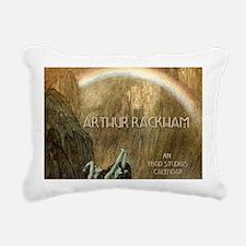 rackhamcovernodate Rectangular Canvas Pillow