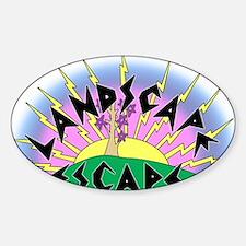 landscapeescape Sticker (Oval)