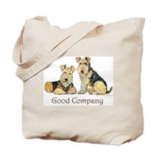 Airedale Terriers - Good Comp Tote Bag