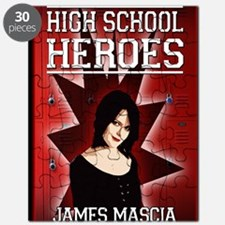 High School Heroes greeting card Puzzle