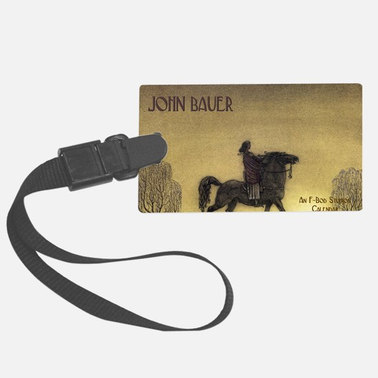 bauercoverblank Large Luggage Tag