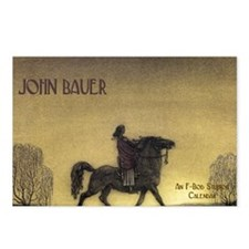 bauercoverblank Postcards (Package of 8)