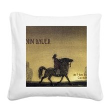 bauercoverblank Square Canvas Pillow