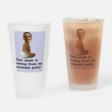 Smelly Obama Drinking Glass