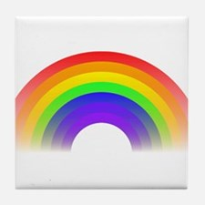 Rainbow Tile Coaster