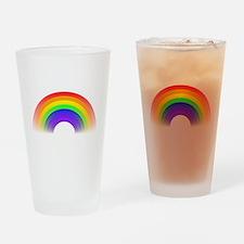 Rainbow Drinking Glass