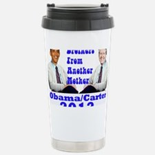 Obama Carter 2012 Travel Mug