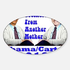Obama Carter 2012 Decal