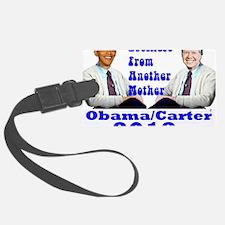 Obama Carter 2012 Luggage Tag