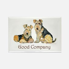 Airedale Terriers - Good Comp Rectangle Magnet (10