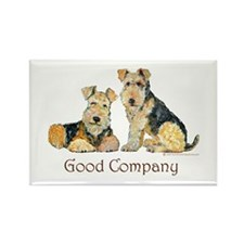 Airedale Terriers - Good Comp Rectangle Magnet