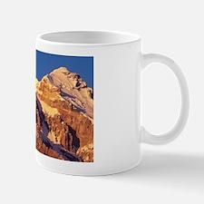 Sunrise on east face of 22,841' Cerro A Mug