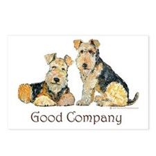 Airedale Terriers - Good Comp Postcards (Package o