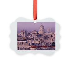 Cuba, old Havana, cityscape at du Ornament