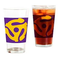 45purple copy Drinking Glass
