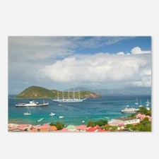 French West Indies Postcards (Package of 8)