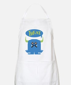 Treat Halloween,black shirts Apron