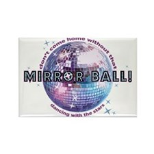 dwts-mirror-ball Rectangle Magnet