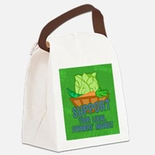 mensWalletSupport Canvas Lunch Bag