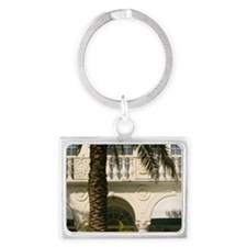 Gianni Versace Boutiquesland, F Landscape Keychain