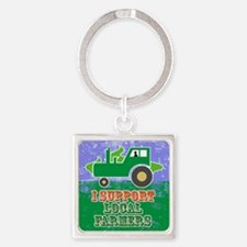 mensWalletSupportLocal Square Keychain