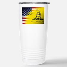 Gadsten flag merged with U.S. Travel Mug
