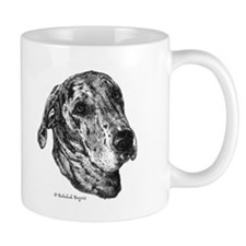 Happiness is a Merle Great Dane Small Mug