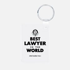 The Best in the World – Lawyer Keychains