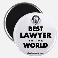 The Best in the World – Lawyer Magnets