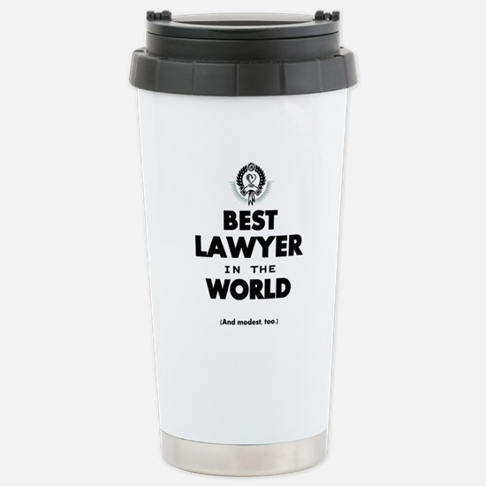 The Best in the World – Lawyer Travel Mug