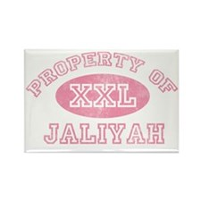 Property-of-Jaliyah Rectangle Magnet