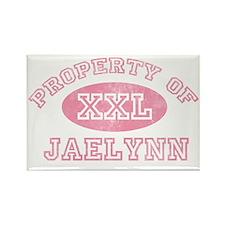 Property-of-Jaelynn Rectangle Magnet