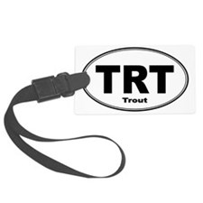 Trout Sticker Luggage Tag