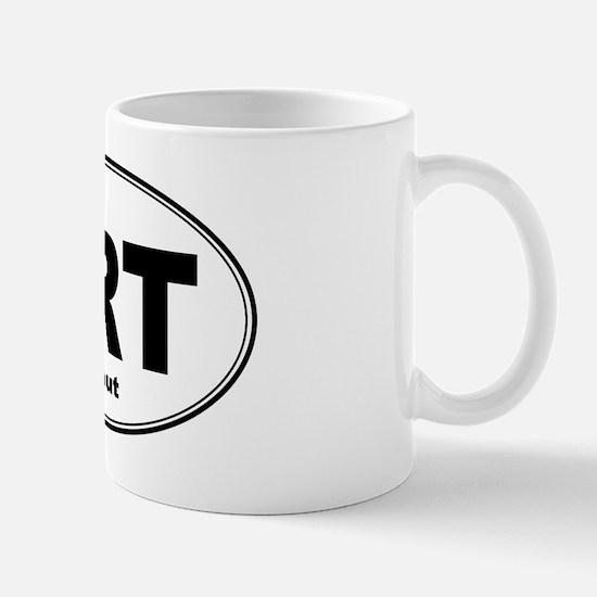 Trout Sticker Mug