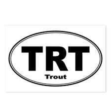 Trout Sticker Postcards (Package of 8)