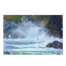 Peace from the storm Postcards (Package of 8)