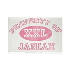 Property-of-Janiah Rectangle Magnet
