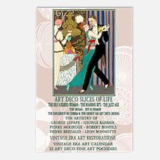 1 A BARBIER LA DANSE ArtD Postcards (Package of 8)