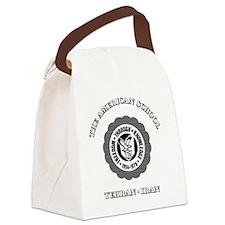 TASGolfShirtBlack Canvas Lunch Bag