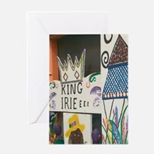 Hope Town: King Irie Cafe DetailElbo Greeting Card