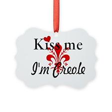 Kiss Me Im Creole Ornament