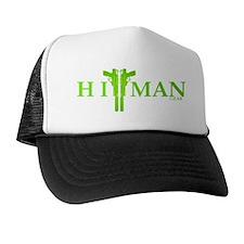 New HitMan Gear Logo lime green Hat