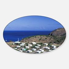 Caribbean, Montserrat, Davy Hill. N Decal