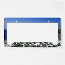 Caribbean, Montserrat, Davy H License Plate Holder